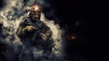 Portrait Of A Special Forces S...