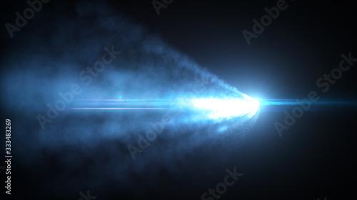 Fényképezés Abstract Glowing Light Strokes Background/ Illustration of an abstract backgroun