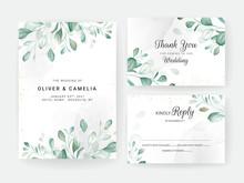 Foliage Wedding Invitation Car...