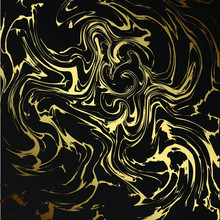 Marble Gold Grunge Texture. Pa...
