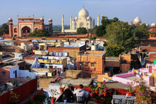 View Of Taj Mahal From The Roo...