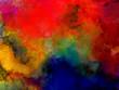 multicolour colour splash fractal oil and watercolour paint abstract brush strock modern artwork texture backround painting