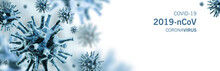 Image Of Flu COVID-19 Virus Ce...