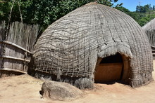 Mantenga Cultural Village In Swaziland,southern Africa