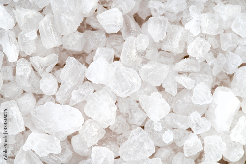 Foto Sea salt close-up