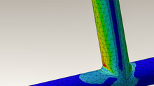 Tubular Joint Engineering With Finite Element Analysis And Von Mises Stress Plot
