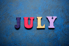 July Word View