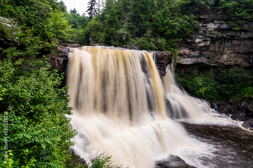 Blackwater falls State Park in West Virginia