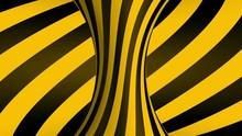 Black And Yellow Torus D