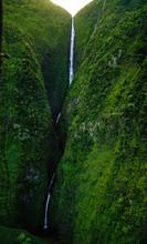Waterfall Molokai Hawaiin Isla...