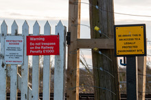 Warning Signs For Railways