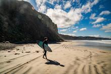 Surfing San Diego Blacks Beach...