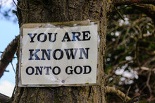 Religious Sign Typical Of Many...