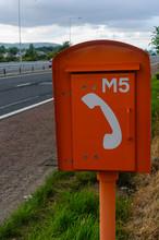 Motorway Emergency Telephone Box