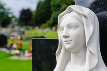 Statue Of The Virgin Mary In A...