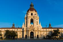Pasadena City Hall At Sunset I...
