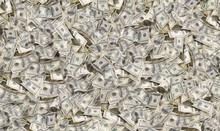 American One Hundred Dollar Bills Background