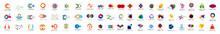 Abstract Logo And Icon Set. El...