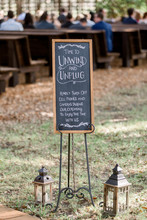 Unplugged Wedding Ceremony Sig...