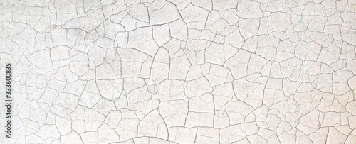 Foto white crack grungy frame textures background