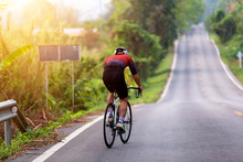 Sport Action The Cyclist Road ...