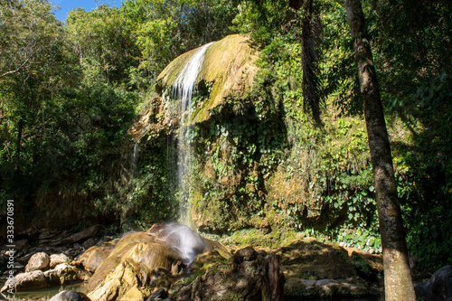 The Angel Waterfall, Soroa, Artemisa, Cuba Fototapet