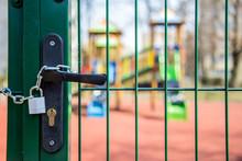 Stan Epidemii - Zamknięcie Placu Zabaw Dla Dzieci