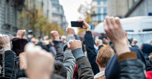 Fotografiet crowd of people