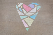 Geometric Heart Created With S...