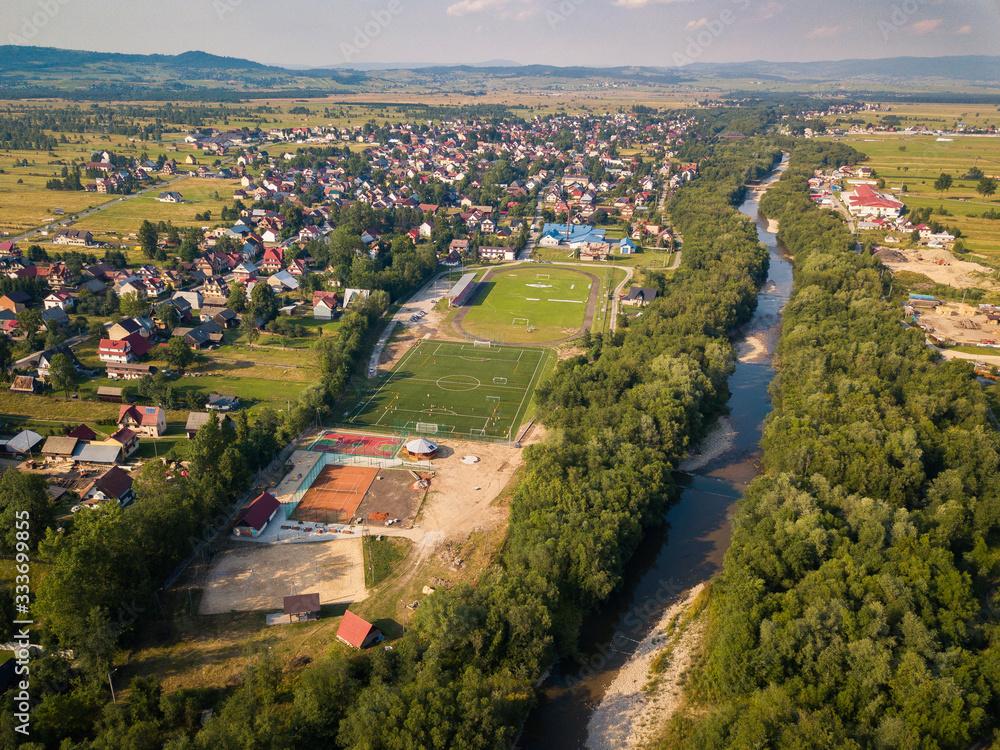 Fototapeta Czarny Dunajec Podhale Podkarpackie Poland River