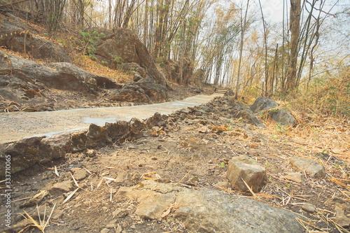 Visited to Hellfire pass Memorial in Kanchanaburi. Tablou Canvas