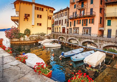 Lake Como, Italy Canvas Print