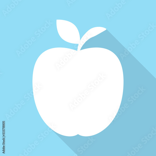 Fototapeta flat icons for Apple,fruit,vector illustrations obraz na płótnie