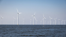 Offshore Windmill Farm In The ...