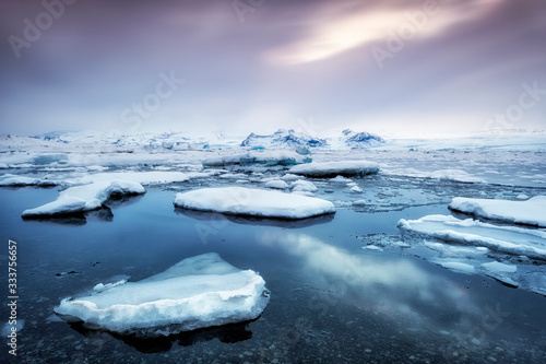 Fotografía Famous jokulsarlon bay on Iceland
