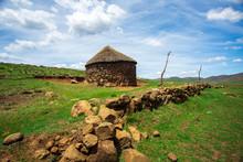 Traditional Basotho African Hu...