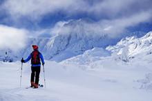 Ski Touring In Harsh Winter Co...