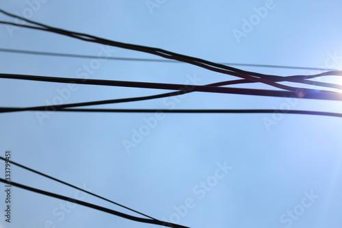Fototapeta Cableado eléctrico
