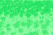 Leinwandbild Motiv Blooming tulips flowers background. Green gradient background with flower pattern