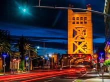 TOWER BRIDGE SACRAMENTO CALIFO...