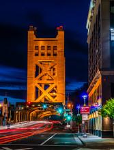 TOWER BRIDGE SACRAMENTO CALIFORNIA