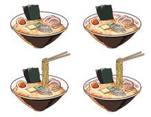 味噌ラーメン(バター付き)