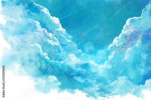 Obraz 夏空 - fototapety do salonu