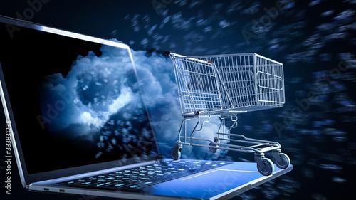 Fototapeta Online shopping concept obraz