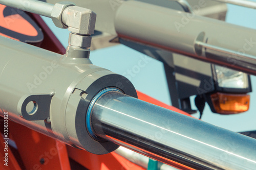 Piston or actuator of hydraulic and pneumatic machinery Canvas Print