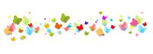 Schmetterlinge Bunt Regenbogen...