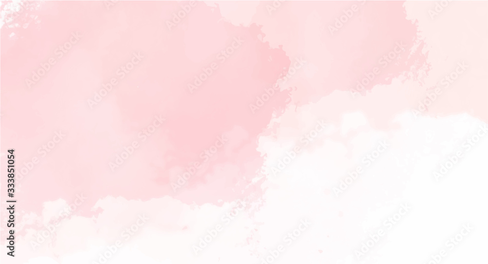 Fototapeta Pink watercolor background for your design, watercolor background concept, vector.