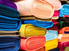 Rolls Of Bright Multicolored F...
