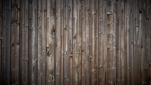 Texture Of Old Wooden Wall Wit...