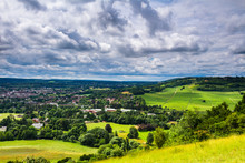 A Walk In July Along Box Hill In Surrey North Downs South East England